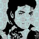 Michael Jackson portrait art by Luis Fernando Reis